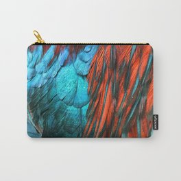 Flowing Feathers Carry-All Pouch