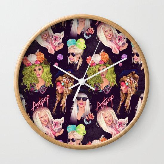 Creative Rebellion Wall Clock