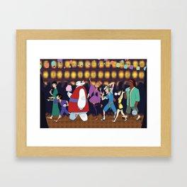 Matsuri Time Framed Art Print