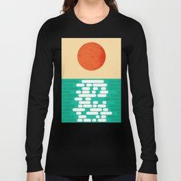 Sun over the sea Long Sleeve T-shirt