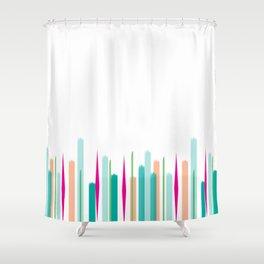 Spring Fling Horizontal Shower Curtain