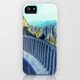 Yellow Mountains lookout - China iPhone Case