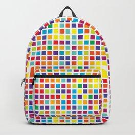 City Blocks - Rainbow #494 Backpack