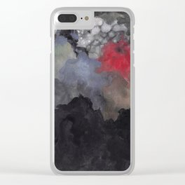 Blood Moon Clear iPhone Case