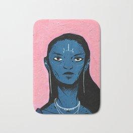 Pink and Blue Bath Mat