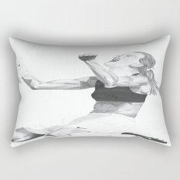Brandi Chastain Rectangular Pillow