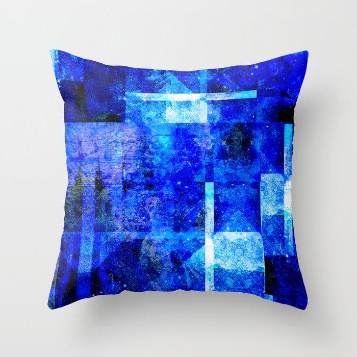 Sapphire Nebulæ Throw Pillow