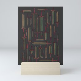 Bunch of Blades Mini Art Print