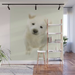 Jindo puppy Wall Mural