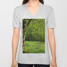 Tree Swing Unisex V-Neck