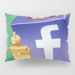 Facebook pressure Pillow Sham