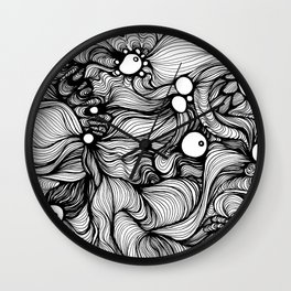 Impossible landscape 1 Wall Clock