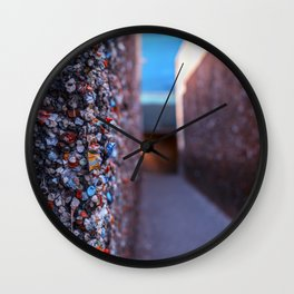 Do you dare enter Bubblegum Alley Wall Clock