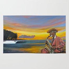Haitian Sax Rug