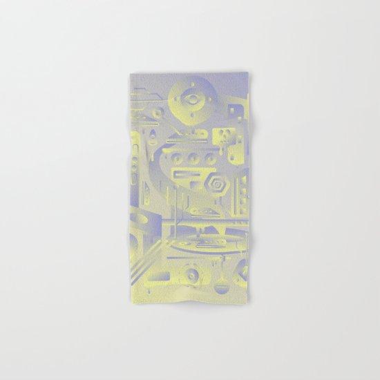Geometromorphic Future Hand & Bath Towel