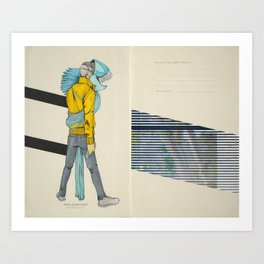 Believe And/Or Tremble Art Print
