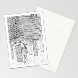 The Trees Will Keep My Secrets Stationery Cards