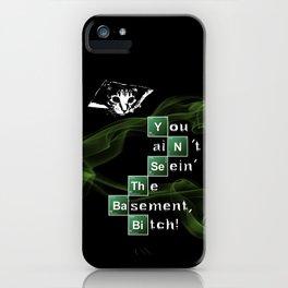 BrBa Basement iPhone Case