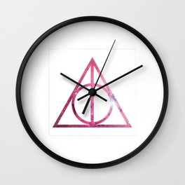 Deathly Hallows Galaxy Harry.Potter Wall Clock