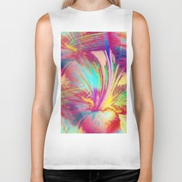 Lily Abstract Biker Tank