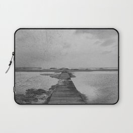 Storm in the beach Laptop Sleeve
