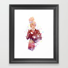 Janelle Monae's Neon Dream Framed Art Print