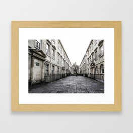 Street in Bath Framed Art Print