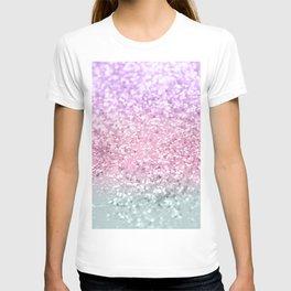 Unicorn Girls Glitter #7a #shiny #pastel #decor #art #society6 T-shirt