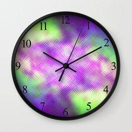 Glass Texture no5 Wall Clock
