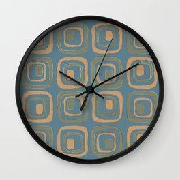 Blueprint Pattern N5 Wall Clock