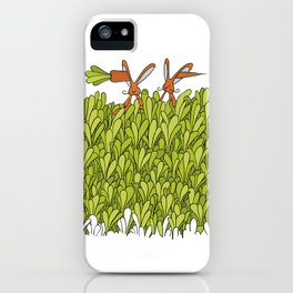 In one ear, out the other iPhone Case