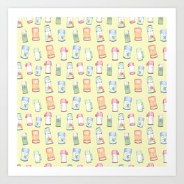 Thermoses Art Print