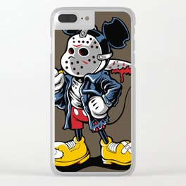 Mickey Vorhees Clear iPhone Case