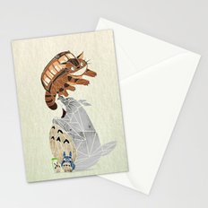 tonari no totoro Stationery Cards