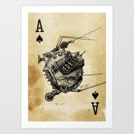 ED-E, My Love Art Print