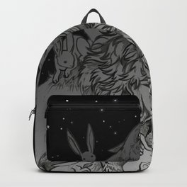 Rabbit Attack Backpack