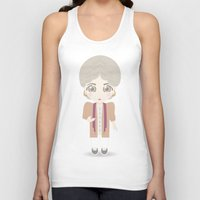 golden girls Tank Tops featuring Girls in their Golden Years - Dorothy by Ricky Kwong