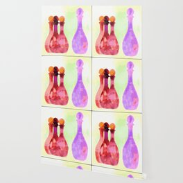 Bottles Abstract 01 Wallpaper