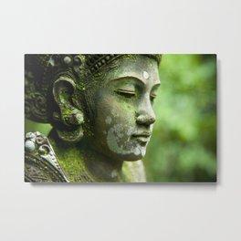 Peaceful Buddha Metal Print