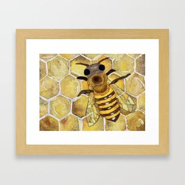 Working Bee Framed Art Print