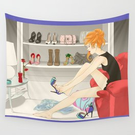 Shoes Wall Tapestry