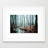 landscape Framed Art Prints featuring Gather up Your Dreams by Olivia Joy StClaire