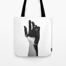Charcoal Hands  Tote Bag