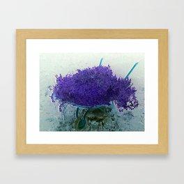 Garden Planter Framed Art Print