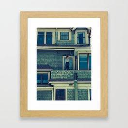 Japanese Apartments Framed Art Print