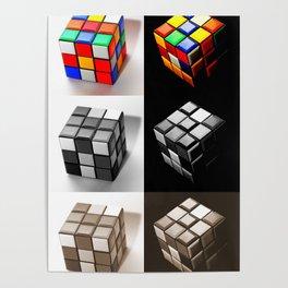 Rubiks Cube Poster
