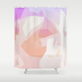 beau abstract 3 Shower Curtain
