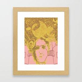 Mind is a Gold Mine Framed Art Print
