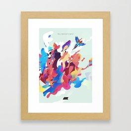 .ELIBERATION. Framed Art Print