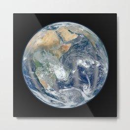 Eastern Hemisphere Earth - Blue Marble 2012 Metal Print